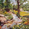 Wellfield Waters - 16x20 oil;  For purchase, contact the artist